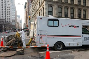 NYC blasts broadband competition shortage because it pursues suit in opposition t Verizon