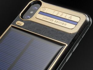 is this $4,500 solar-powered iPhone the way forward for business smartphones?
