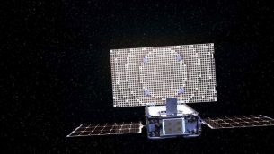 Mars Cubesats make background with deep-house maneuver