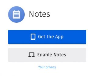 the way to deploy and use Firefox Notes